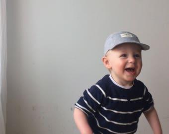 baby and kid linen sun hat