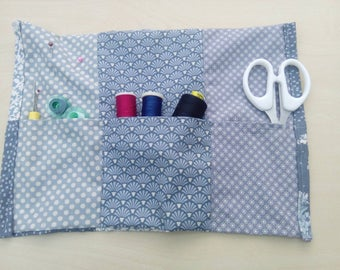 Sewing travel holder