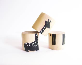 Animal Block Puzzle - Giraffe