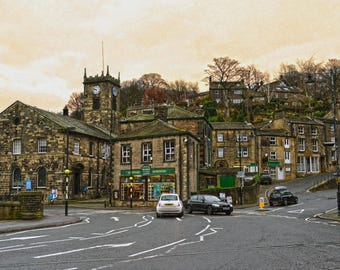 Holmfirth Limited Edition A4 Print
