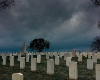 Storm Over the Cemetery