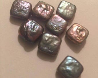 Square Pearl Beads