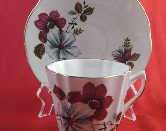 Vintage Fine Bone China Cup and Saucer   #223