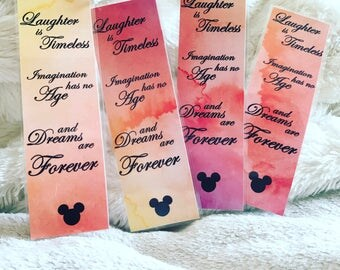 Disney bookmark