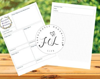 Fabulously Organised Garden Project Planner