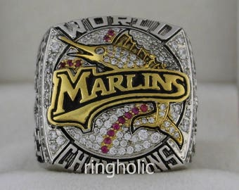 2003 Florida Marlins World Series Champions Rings Ring