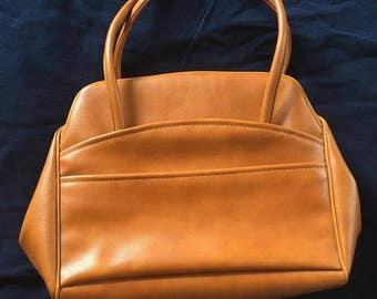Vintage Leather Snap Close Purse