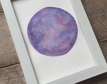 Galaxy astrological constellation