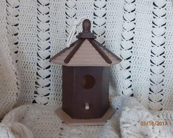 Brown Pagoda Bird House