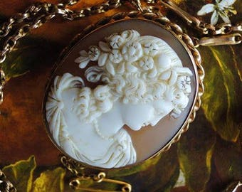 Antique Victorian Cameo