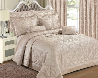 Elegant Renoir Jacquard Bedspread