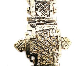 Ethiopian Coptic Cross Pendant