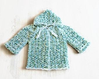 Off-season hooded vest handmade baby boy