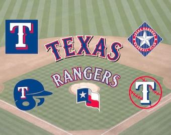 Texas Rangers Baseball SVG, Texas Rangers, Rangers SVG, Baseball Clip Art, Rangers