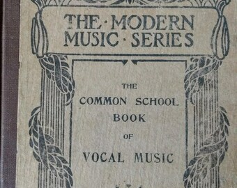 1904 Music Book for Schools