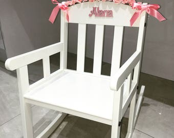 Personalised Children's Rocking Chairs
