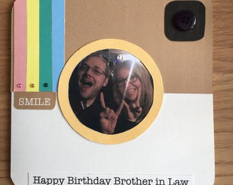 Insta-Book Personalised Photo Card