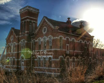 Abandoned School, Higginsport School, Ohio