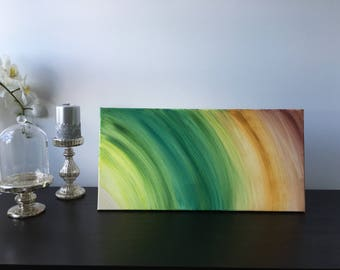 24 x 12 inches When Green Meets Sand