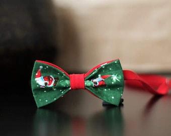 Butterfly Green Santa Claus