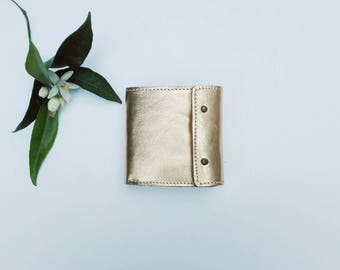 Handmade Leather Wallet.
