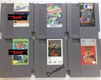 Original NES Games: Dragon Power, Infiltrator, Jordan Vs. Bird, Major League Baseball