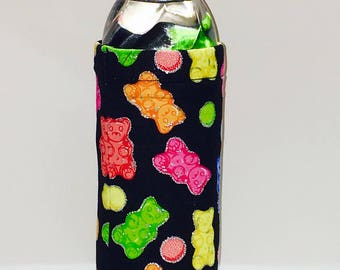 Insulated Water Bottle Cover: Gummy Bears