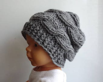 Newborn slouchy Hat , boy Slouchy Beanie , chunky hat, photo prop, kids slouchy hat, girl slouchy , boy slouchy, knit hat, baby hipster hat