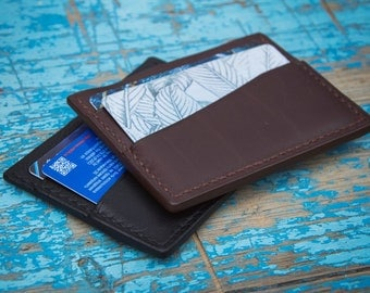 Cardholder made of genuine leather