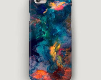 Colorful iPhone 7 Case, Stains iPhone 7 Plus Case, iPhone 5C Case, iPhone 4 Case, iPhone Cover, Cool Apple Case, Marble Phone Case, 6S Case