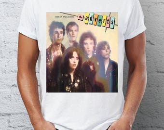 The adverts - A Cast Of Thousands - T-shirt