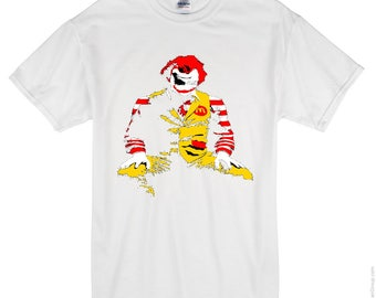 The Joker as Ronald McDonald - t-shirt