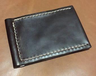 Horween Chromexcel Money CLip Wallet