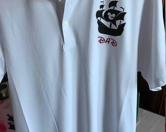 Disney Pirate Shirt with Name