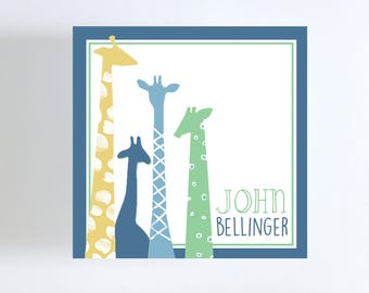 Giraffe Gift Tag or Calling Card