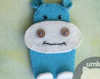 Finger puppet Hippo