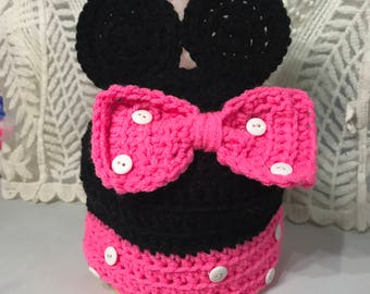 Baby Minnie Mouse Bennie