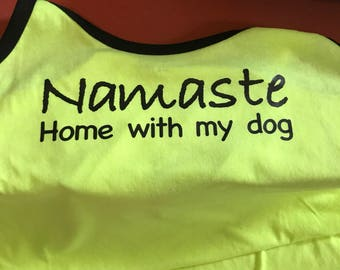 Yoga and pet love