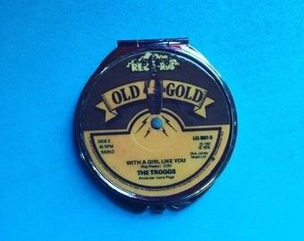 Record Label Mirror Compact