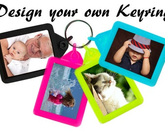 Personalised Soft Touch Keyring