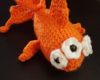 Simpsons 'Blinky' fish plush toy crochet