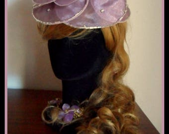WEDDING WATER LILY HAT