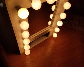 28 vanity mirror with lights large hollywood lighted vanity