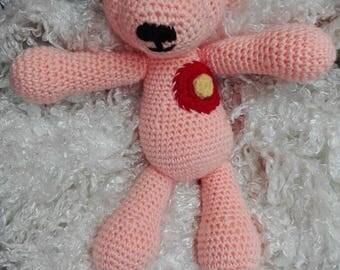 Crochet bear BabyBär