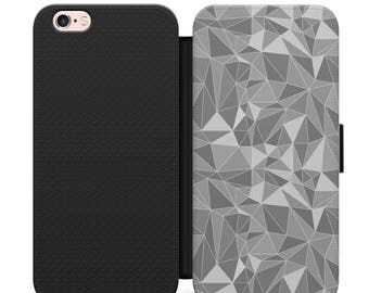 Shell case Iphone 4, 5, 6, 7 geometric 013 black edges