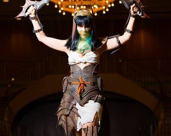 Monster Hunter Cephadrome armor cosplay