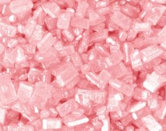 3oz Pink Shimmer Sanding Sugar