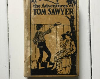 Vintage Copy of The Adventures of Tom Sawyer