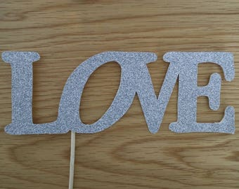 Love Cake Topper Two