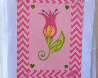 Noteworthy blank greeting cards-JAVA card collection-floral design
